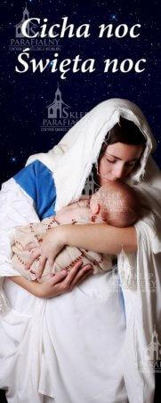 baner na boże narodzenie, dekoracja na boże narodzenie