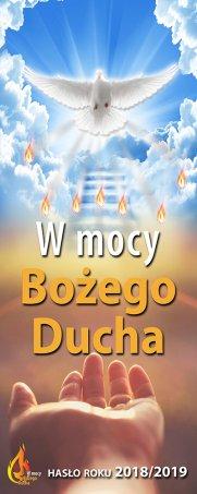 rok liturgiczny W mocy Bożego Ducha baner