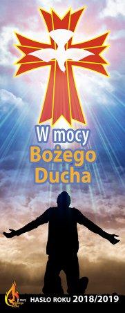 baner rok liturgiczny W mocy Bożego Ducha