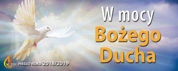 rok liturgiczny W mocy Bożego Ducha