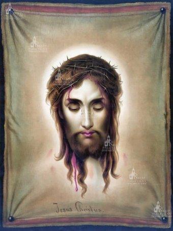 chusta św.Weronika, oblicze Jezusa, twarz Jezusa