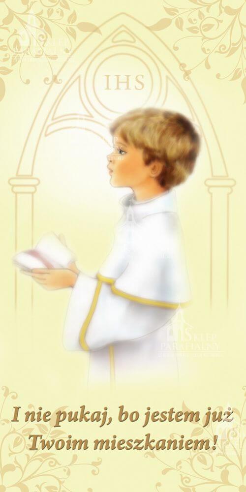 baner na pierwszą komunię świętą