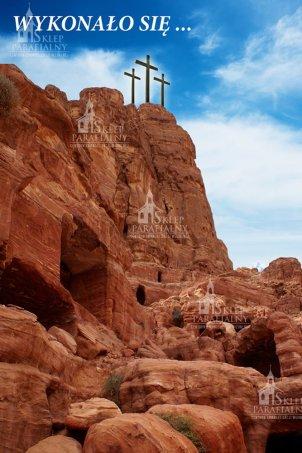 tło do Grobu Pańskiego, baner do Grobu, dekoracja Grobu Pana Jezusa