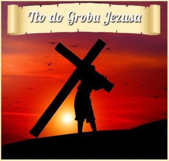 TŁO DO GROBU PANA JEZUSA-dekoracja baner